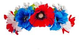 венок цветков стоковая фотография