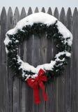 венок christmastime Стоковое фото RF