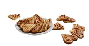 Венские waffles Стоковые Изображения RF