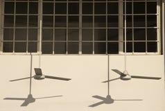 2 вентилятора стоковое изображение
