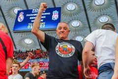Вентиляторы Ливерпуля FC стоковые изображения