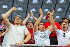 Вентиляторы Ливерпуля FC стоковая фотография