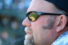 вентилятор бейсбола Стоковые Изображения