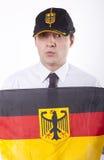 вентилятор Германия Стоковое Изображение