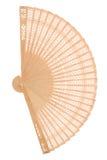 вентилятор деревянный стоковое фото