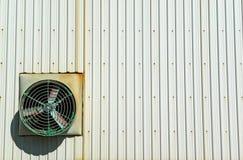 вентилятор здания внешний промышленный Стоковые Изображения