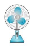 Вентилятор настольного компьютера иллюстрация вектора