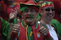 вентилятор Португалия евро 2008 Стоковые Изображения RF