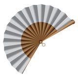 Вентилятор руки иллюстрация штока