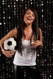 Вентилятор футбола Стоковое Фото