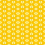 Вентилятор цветет текстура геометрической картины безшовная Стоковое фото RF