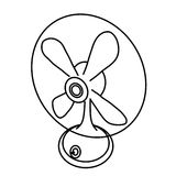 вентилятор Стоковая Фотография