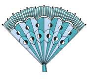 Вентилятор Flamenco Стоковые Изображения RF