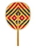 Вентилятор Weave цветастый тайский Стоковая Фотография