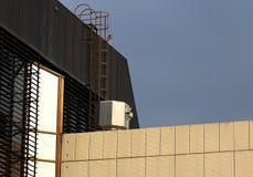 Вентиляция на крыше Стоковое Фото