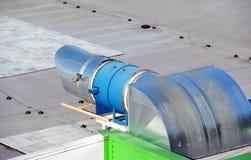 вентиляция промышленной системы Стоковые Фото