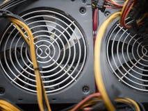 2 вентилятора компьютера Стоковое Изображение RF