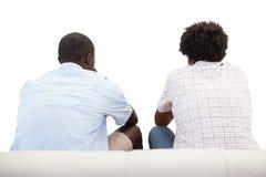 2 вентилятора спорт сидя на кресле Стоковое Изображение