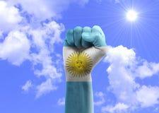 Вентиляторы Аргентины Стоковые Фотографии RF