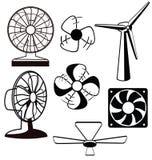 Вентиляторы вентиляторов иллюстрация штока
