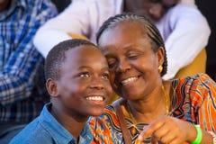 Вентиляторы джазового фестиваля Safaricom Стоковые Фото