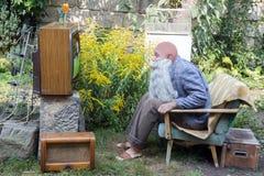 Вентиляторы ТВ стоковая фотография rf