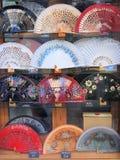 Вентиляторы фламенко, Валенсия стоковые фото