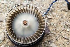 Вентилятор двигателя для воздуходувки автомобиля Стоковые Изображения