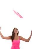 Вентилятор девушки заразительный Стоковые Фото