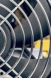 Вентилятор компьютера и крупный план решетки Стоковые Изображения RF