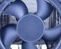 Вентилятор компьютера на heatsink Стоковые Фотографии RF
