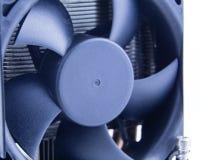 Вентилятор компьютера на heatsink Стоковые Изображения