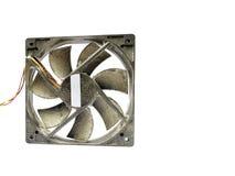 Вентилятор компьютера предусматриванный в пыли Стоковые Изображения RF