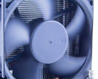 Вентилятор компьютера, с нерезкостью движения на лезвиях Стоковое Изображение RF