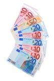 Вентилятор от евро. Стоковое Изображение