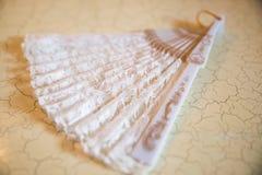 Вентилятор свадьбы Стоковая Фотография RF