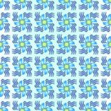 вентилятор 8 син Стоковые Изображения