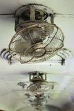 Вентилятор старого стиля на поезде Стоковое Изображение