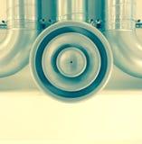 Вентиляционное отверстие потолка в цвете Стоковое Изображение