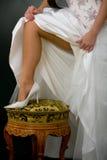 венчание ботинка Стоковые Изображения RF