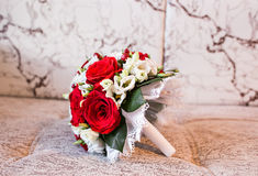 венчание букета близкое поднимающее вверх Стоковое Изображение