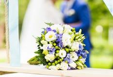 венчание букета близкое поднимающее вверх Стоковое Изображение RF