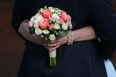 венчание букета близкое поднимающее вверх Стоковые Фотографии RF