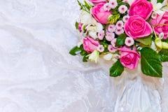 венчание букета backround Стоковые Фотографии RF