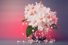 венчание вазы букета Стоковые Изображения RF