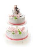венчание девушки figurines торта мальчика стоковые фотографии rf