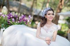 венчание девушки платья милое Стоковые Фотографии RF