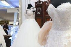 венчание заказа части платья стоковые изображения