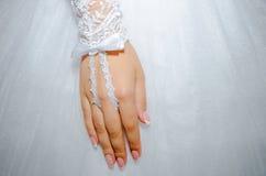 венчание заказа части платья Стоковые Фото