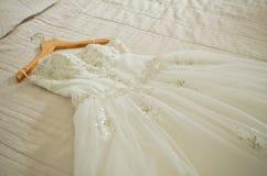 венчание заказа части платья Стоковое Фото